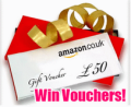 Amazon Voucher Giveaway!