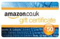 Amazon 50 pound voucher