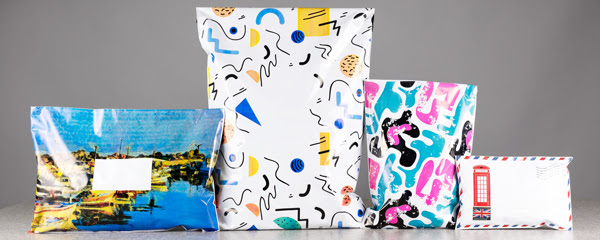 Mailing Bags with Printed Designs