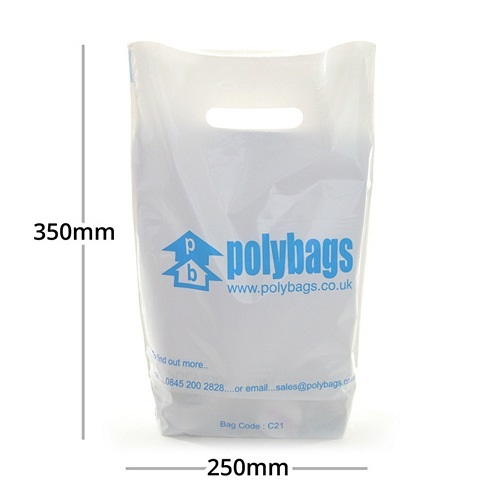 Small Printed Carrier Bag