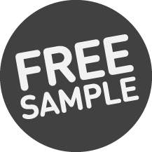 Free sample service icon
