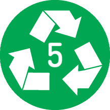 Recyclable 5 PP
