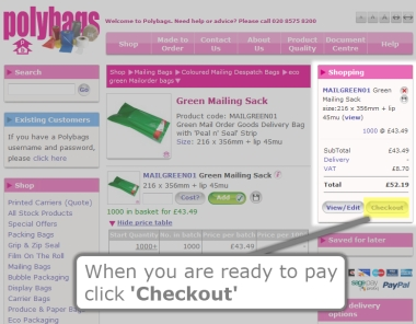 How to Checkout