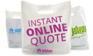 *Instant* Email Quote. 24 hours a day, 7 days a week. Get a no-obligation quotation, cheaper and direct from the Manufacturers. Get the best quote for Carrier bags printed with your design or logo now...