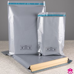 Recycled Grey Mailers